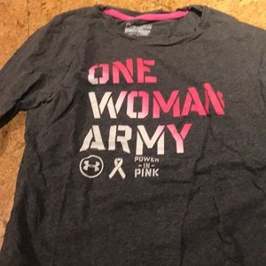 🛍 2/$30 Under Armour - One Woman Army